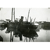 Black and White Photograph in album of trawler 'Star of Scotland'