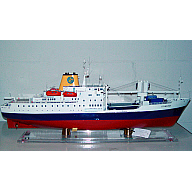 "Ship Model Of Passenger/Cargo Vessel RMS ""St Helena"""