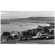 postcard showing 'St Ola' (I) arriving at Stromness