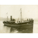 Black and white photograph of the Aberdeen Trawler 'Margaret Clark'