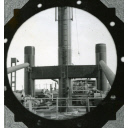 Black and White Photograph in album of cargo vessel 'Hydra'