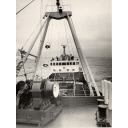 Black and white photograph of the trawler Prince Philip (905)
