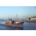colour slide showing the trawler Summerlee in Aberdeen harbour