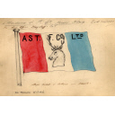 House Flag Of The Aberdeen Steam Trawling And Fishing Co. Ltd For Use On Trawlers Such As Strathblane And Strathleven