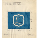 House Flag For The Steam Trawler Kinaldie Built By Hall Russell In 1914