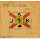 House Flag For The Steam Trawler Theresa Boyle Built By Hall Russell In 1915