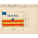 House Flag For Use On The Steam Trawlers 'tolosa' And 'devatarra' Built By Hall Russell In 1930