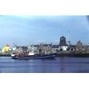 colour slide showing the trawler Admiral Hawke in Aberdeen harbour