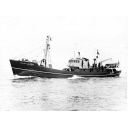 Photograph showing the trawler Strathdon